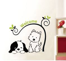 Wall Decals Dog Google Search Dog Grooming Shop Wall Sticker Design Dog Crate