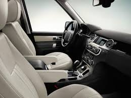 interior land rover discovery 4