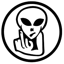 2020 16 16cm Alien Bird Flipping Off Adhesive Vinyl Decal Sticker Car Truck Window Cool Graphics Car Decor Car Sticker From Xymy787 4 03 Dhgate Com