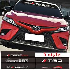 Car Auto Trd Vinyl Decals Sticker Reflective Front Rear Windshield Decor Archives Midweek Com