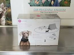 Motorola Wireless Dog Fence With Remote Travel Pet Training Collar Travelfence50 204 99 Picclick