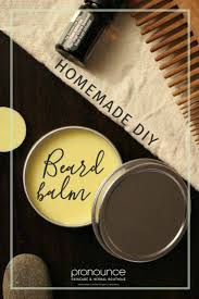 diy all natural extra hold beard balm
