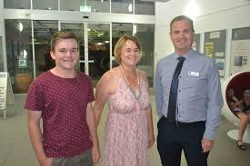 Lachlan and Roslyn Smith with Todd Summerville.   Buy Photos Online    Chronicle