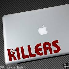 The Killers Vinyl Sticker Car Decal Cd Shirt Hat Poster Laptop Brandon Flowers Ebay