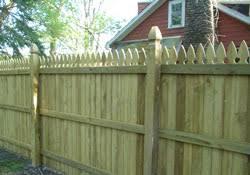 Residential Wood Fence Panels Wood Fencing Installation Buffalo Ny Western New York