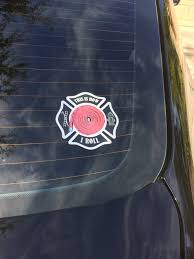 This Is How I Roll Car Decal Firefighter Maltese Cross Window Decal Anomaly Creations Designs Inc