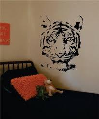 Tiger Face Design Animal Decal Sticker Wall Vinyl Decor Art Boop Decals