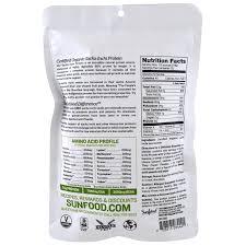 sunfood organic sacha inchi powder 8