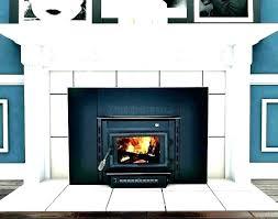 outdoor wood burning fireplace insert