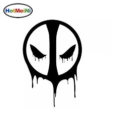 Hotmeini Car Sticker Horrible Death Faces The Shadow Of Death Deadpool Bumper Styling Fashion Vinyl Decal 15 13 Cm Shop The Nation