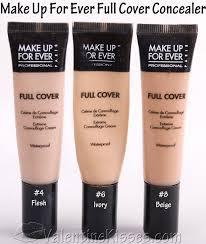 makeup forever cream concealer