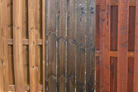 Wood Stain Wood Stain Fence