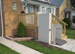 outdoor wheelchair lifts porch lifts