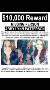 Over two years later and Abby Lynn Patterson is still missing –  BladenOnline.com