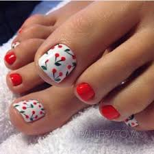 beautiful toe nails art ideas to