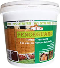5 Litre Red Cedar One Coat Garden Fence And Shed Paint Water Repellent And Quick Dry Wall Paint Red Cedar Colour Amazon Co Uk Diy Tools