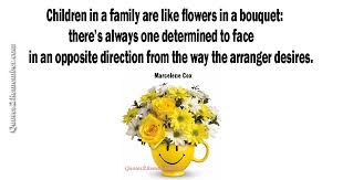children in a family are like flowers quotes remember