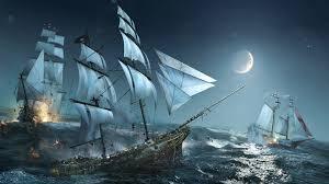 pirate ship fantasy wallpaper 9745