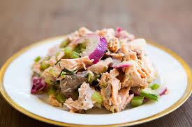 Fresh Salmon Salad Recipe ...