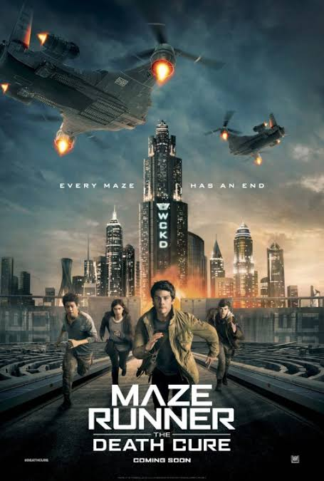 Maze Runner: The Death Cure (2018) {Hindi-English}-Bluray || 480p [300MB] || 720p [1.2GB] 1080P [2.8GB]