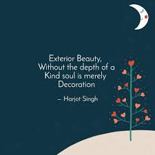 exterior beauty ou quotes writings by harjot singh