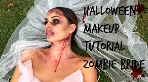easy halloween makeup tutorial zombie