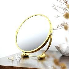 mirror makeup round simple table vanity