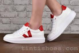 Дамски обувки Iva white red - Iva white