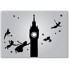 Amazon Com Peter Pan Disney Apple Macbook Decal Vinyl Sticker Apple Mac Air Pro Retina Laptop Sticker Kitchen Dining