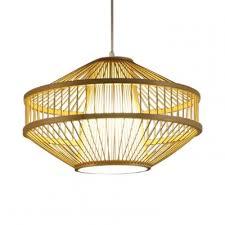rustic style beige pendant lighting