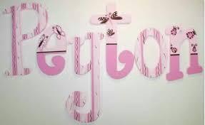 Peyton Baby Name Letters Butterfly Nursery Nursery Letters