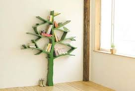 tree branch bookshelf from olivier dolle