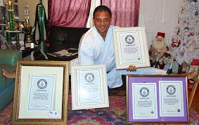 Springfield Cab Driver Holds 5 Guinness World Records