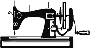 Wall Decals Sewing Machine Vinyl Sticker Sewing Decal Home Decor Art Design Sewing Machine Bedroom Dorm Window Living Room Chu321 Wall Murals Amazon Com