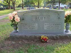 Myrtle Bowman Ruby (1912-1986) - Find A Grave Memorial