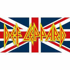 B Def Leppard Vinyl Sticker For Skateboard Luggage Laptop Tumblers Car
