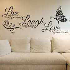 Love Butterfly Flower Wall Art Sticker Modern Wall Decals Quotes Vinyls Stickers Wall Stickers Home Decor Living Room Large Size 131x56cm Dark Red Free Shipping Dealextreme