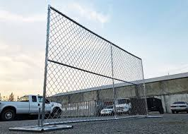 6 Feet High X 10 Feet Long Chain Link Portable Panels Temporary Fencing