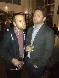 """Burnie Burns CEO of Rooster Teeth with Adam """"Seananners"""" Montoya ..."""