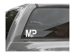 Mp Military Police Vinyl Window Decal Sticker Ebay