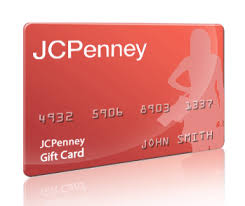 jcpenney credit card services