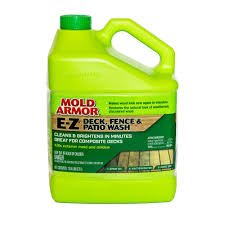 Mold Armor 1 Gal E Z Deck And Fence Wash Mold And Mildew Remover Fg505 The Home Depot