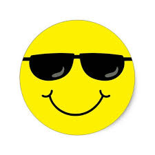 Billedresultat for smiley sunglasses