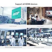 DÂY CÁP :: Cáp HDMI :: Cáp HDMI 2.0 sợi quang hợp kim kẽm hỗ trợ ...