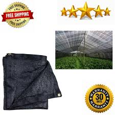 E Share Eshare40b Black Shade Cloth Taped Edge With Grommets 10 Ft X 20 Ft Outdoor Garden Supplies