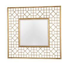 harper grand gold mirror by interlude home