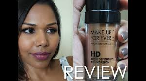 makeup forever hd foundation 173 review