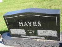 Joy Duane Hayes (1919 - 2004) - Genealogy