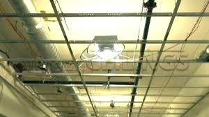 installing can lights in drop ceiling