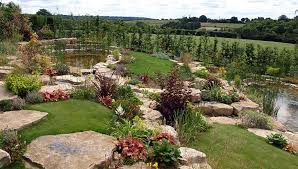 rock garden waterscape berkshire